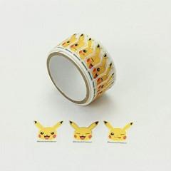 Japan Pokemon Peripetta Roll Sticker - Pikachu