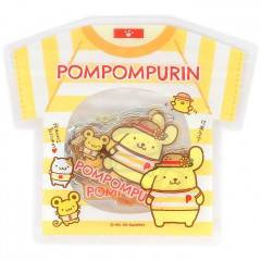Japan Sanrio Summer Stickers with T-shirt Bag - Pompompurin