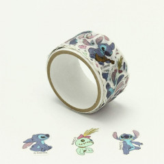 Japan Disney Peripetta Roll Sticker - Stitch & Lilo