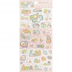 Japan San-X Sumikko Gurashi Seal Sticker - Pink