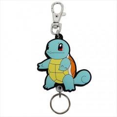 Japan Pokemon Rubber Reel Key Chain - Squirtle