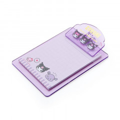 Japan Sanrio Mini Clipboard & Memo - Kuromi