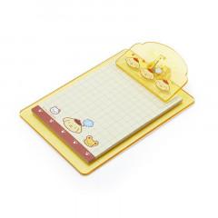 Japan Sanrio Mini Clipboard & Memo - Pompompurin