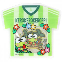Japan Sanrio Summer Stickers with T-shirt Bag - Keroppi