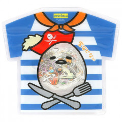 Japan Sanrio Summer Stickers with T-shirt Bag - Gudetama