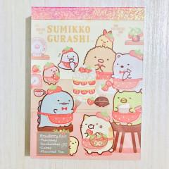 Japan Sumikko Gurashi B8 Mini Notepad - Strawberry Cafe