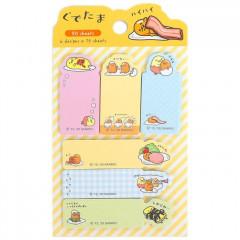Japan Sanrio Sticky Notes Set - Gudetama