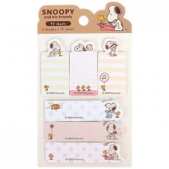 Japan Sanrio Sticky Notes Set - Snoopy