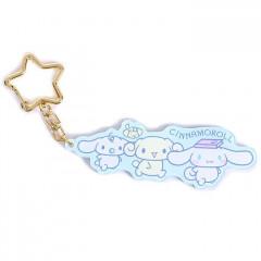Japan Sanrio Acrylic Charm Key Chain - Cinnamoroll