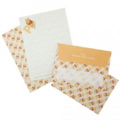 Japan Disney Letter Envelope Set - Winnie the Pooh