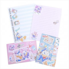 Japan Disney Letter Envelope Set - Donald Duck & Daisy Duck