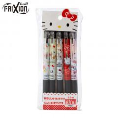 Japan Sanrio FriXion Erasable Pen Set - Hello Kitty