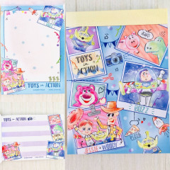 Japan Disney B8 Mini Notepad - Toy Story Photo