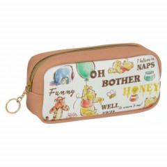 Japan Disney Pouch - Winnie the Pooh & Tigger Eeyore