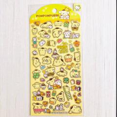 Sanrio Bronzing Sticker - Pompompurin