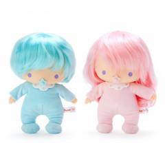 Japan Sanrio Soft Vinyl Doll - Little Twin Stars / 45th Anniversary Baby Dream