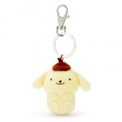 Japan Sanrio Mini Mascot Keychain - Pompompurin