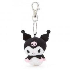 Japan Sanrio Mini Mascot Keychain - Kuromi