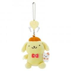 Japan Sanrio Crane Game Style Mascot Keychain - Pompompurin