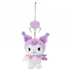 Japan Sanrio Crane Game Style Mascot Keychain - Kuromi
