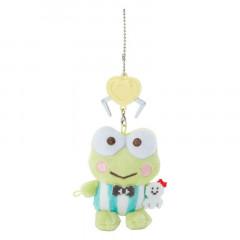 Japan Sanrio Crane Game Style Mascot Keychain - Keroppi