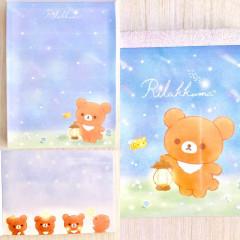 Japan San-X Rilakkuma B8 Mini Notepad - Star Night