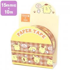 Japan Sanrio Washi Paper Masking Tape - Pompompurin