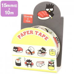 Japan Sanrio Washi Paper Masking Tape - Bad Badtz-maru