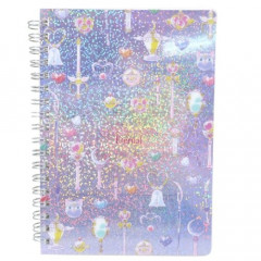 Japan Sailor Moon B6 Twin Ring Notebook - Icon