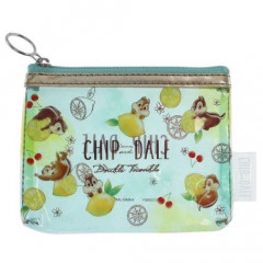 Japan Disney Mini Clear Pouch - Chip & Dale