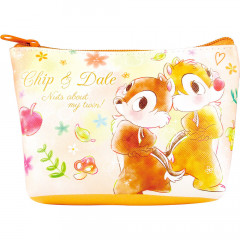 Japan Disney Triangular Mini Pouch - Precious Dream Chip & Dale
