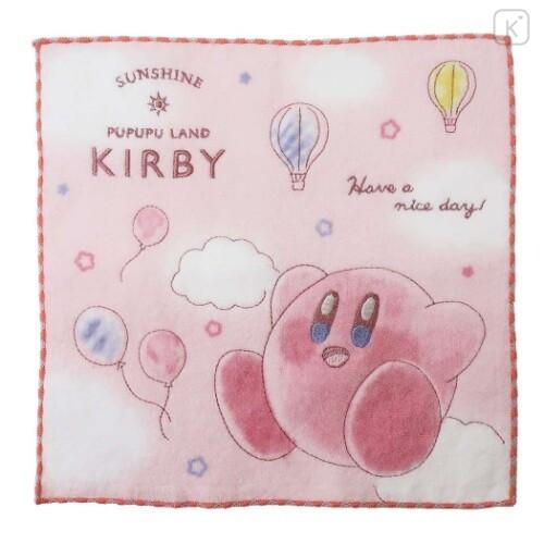 Japan Kirby Embroidery Handkerchief Wash Towel - Sunshine - 1