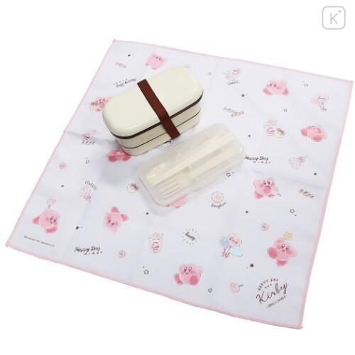 Japan Kirby Lunch Box Cloth - White - 2