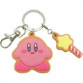 Japan Kirby Metal Charm Key Chain - Star - 1
