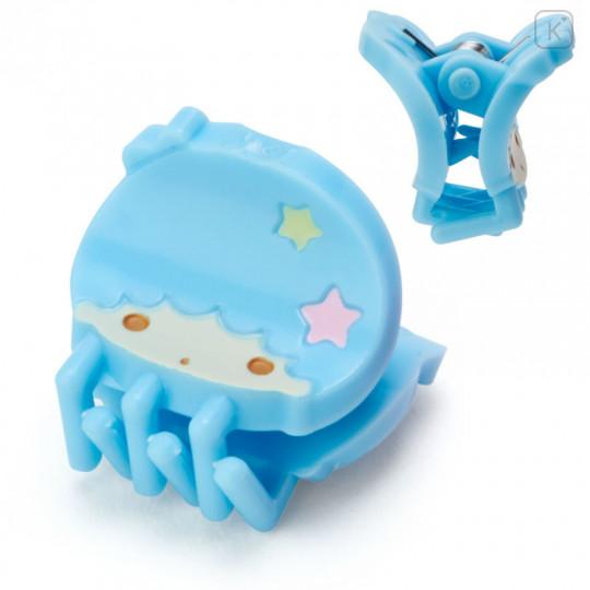 Japan Sanrio Mini Hair Clip 4pcs - Little Twin Stars - 3