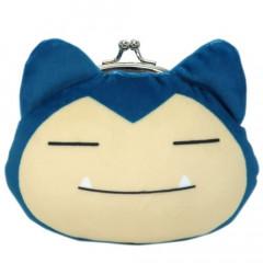 Japan Pokemon Coin Purse Wallet Plush - Snorlax
