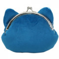 Japan Pokemon Coin Purse Wallet Plush - Snorlax - 4
