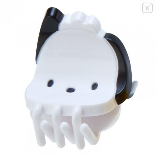 Japan Sanrio Mini Hair Clip 4pcs - Pochacco - 2
