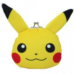 Japan Pokemon Coin Purse Wallet Plush - Pikachu