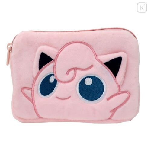 Japan Pokemon Pouch & Tissue Case - Jigglypuff Gamaguchi - 1