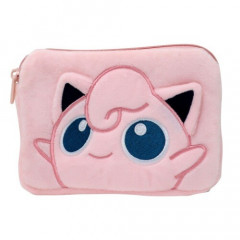 Japan Pokemon Pouch & Tissue Case - Jigglypuff Gamaguchi