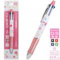 Japan Sanrio Dr. Grip 4+1 Color Ball Pen & Mechanical Pencil - Hello Kitty - 1