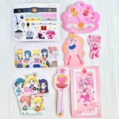Sailor Moon Flake Sticker Pack A