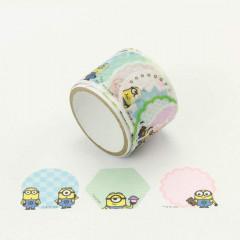 Japan Despicable Me Peripetta Roll Sticker - Minions Memo