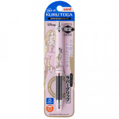 Japan Disney Uni Kuru Toga Auto Lead Rotation 0.5mm Mechanical Pencil - Rapunzel