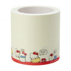 Japan Sanrio Sticker Memo Roll Tape - Hello Kitty