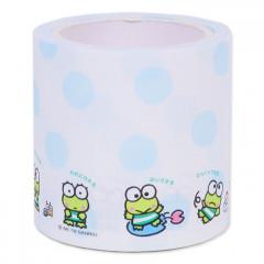 Japan Sanrio Sticker Memo Roll Tape - Keroppi