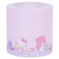 Japan Sanrio Sticker Memo Roll Tape - Sanrio Family