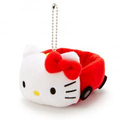 Japan Sanrio Key Chain Plush Car - Hello Kitty