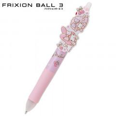 Japan Sanrio FriXion Erasable 3 Color Multi Gel Pen - My Melody